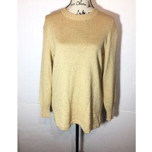 St John Sport Shimmer Pullover Sweater